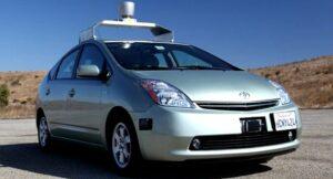 La voiture qui roule toute seule de Google