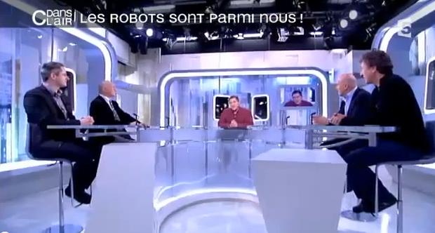 Frédéric Boisdron de Planète Robots sur France 5