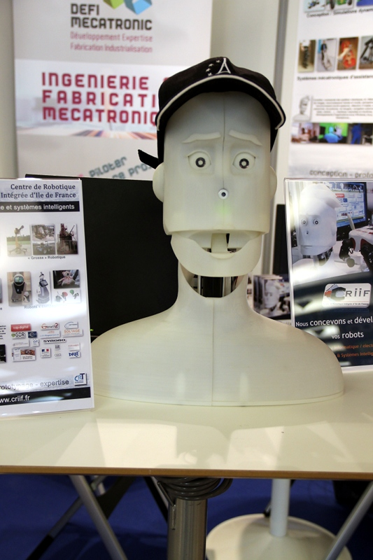 Criif tête humanoïde