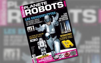 Couverture de Planète Robots 15