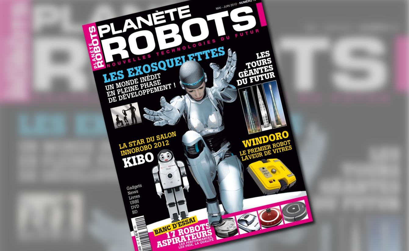 Couverture du magazine Planète Robots numéro 15