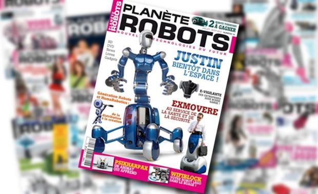 Planète Robots n°16 : Des robots créés par nos lecteurs