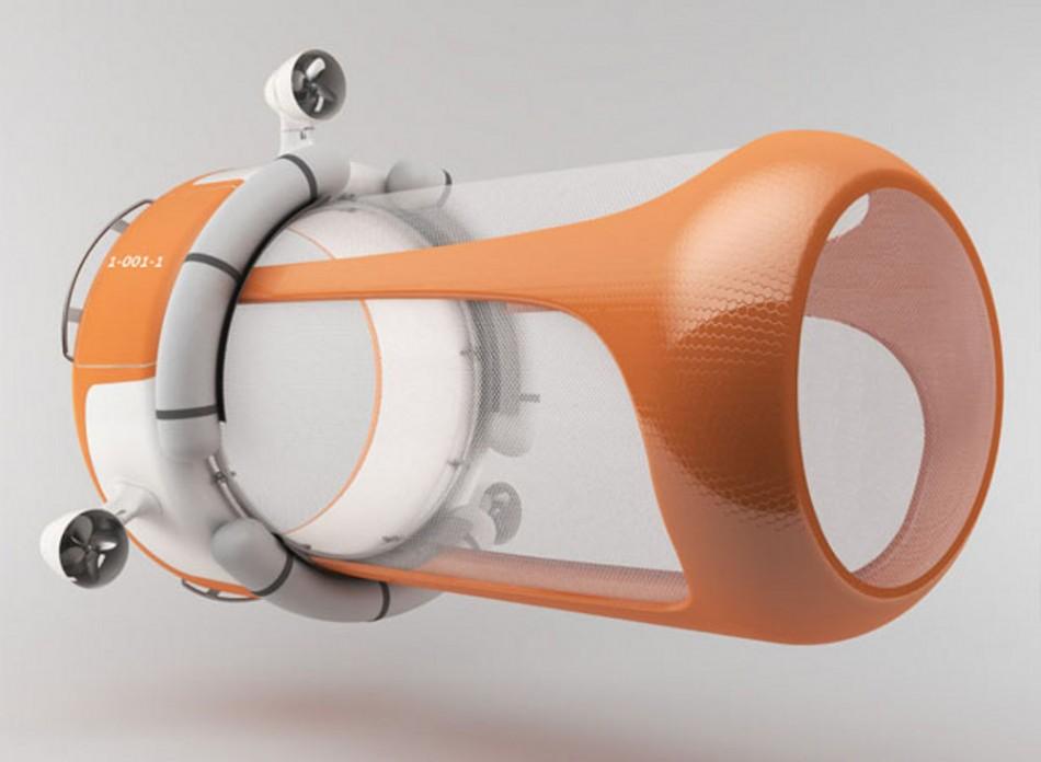 Un projet de drone sous-marin pour nettoyer les océans