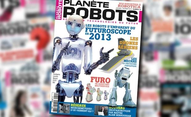 Planète Robots n°19 : Les robots s'emparent du Futuroscope en 2013 !