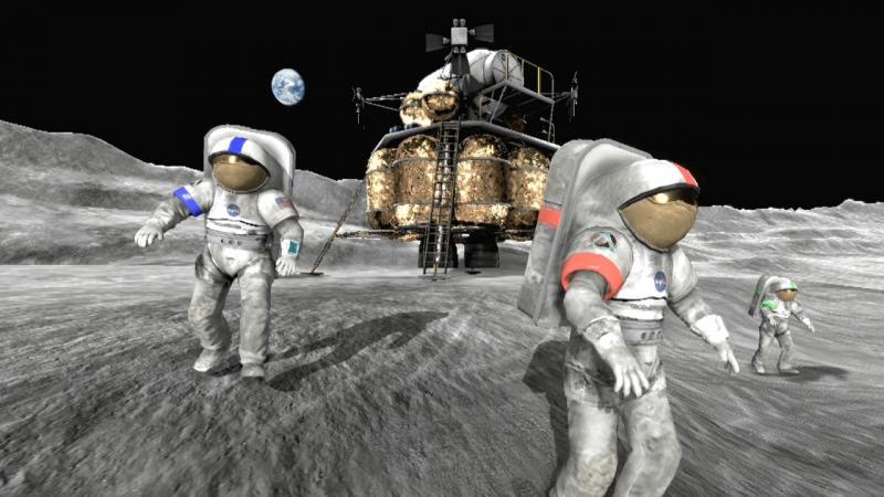 """[Jeu vidéo] """"Moonbase Alpha"""" : la NASA nous invite à jouer la conquête lunaire !"""