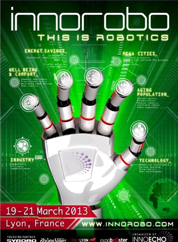 Planète Robots vous invite au salon Innorobo !