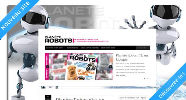 Nouveau site Internet Planète Robots !