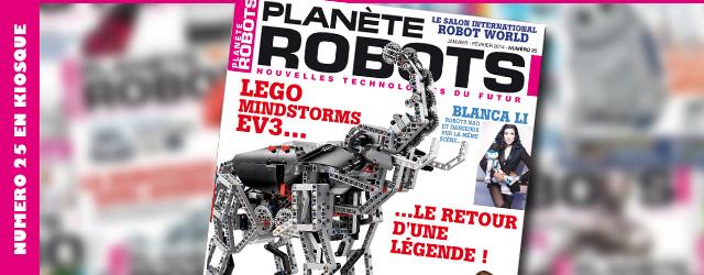 Planète Robots numéro 25 – Lego Mindstorms Ev3
