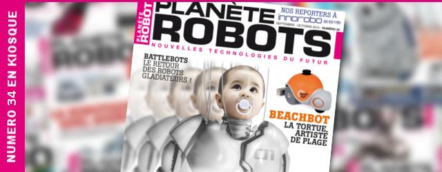 Planète Robots numéro 35 : La robotique au secours de l'handicap !