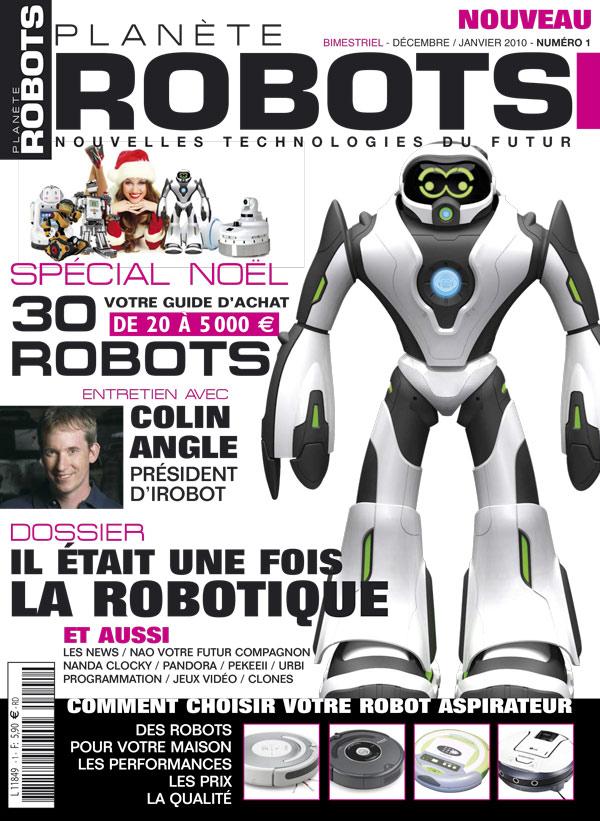 Planète Robots numéro 1