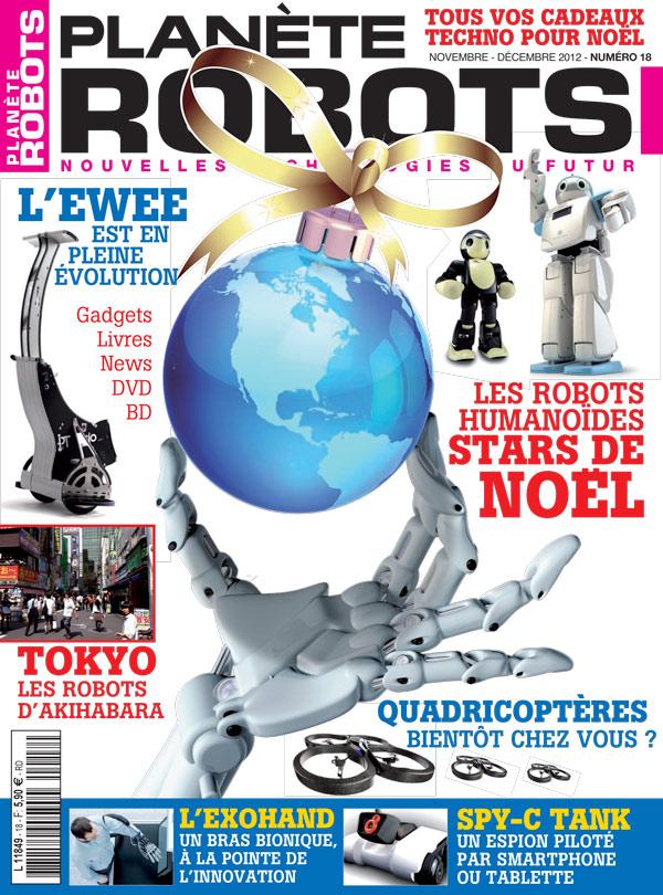 Planète Robots numéro 18