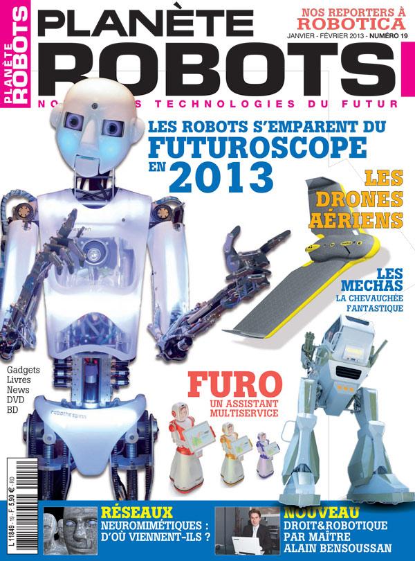 Planète Robots numéro 19