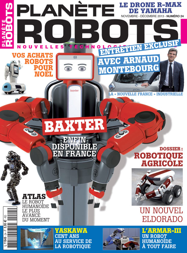 Planète Robots numéro 24