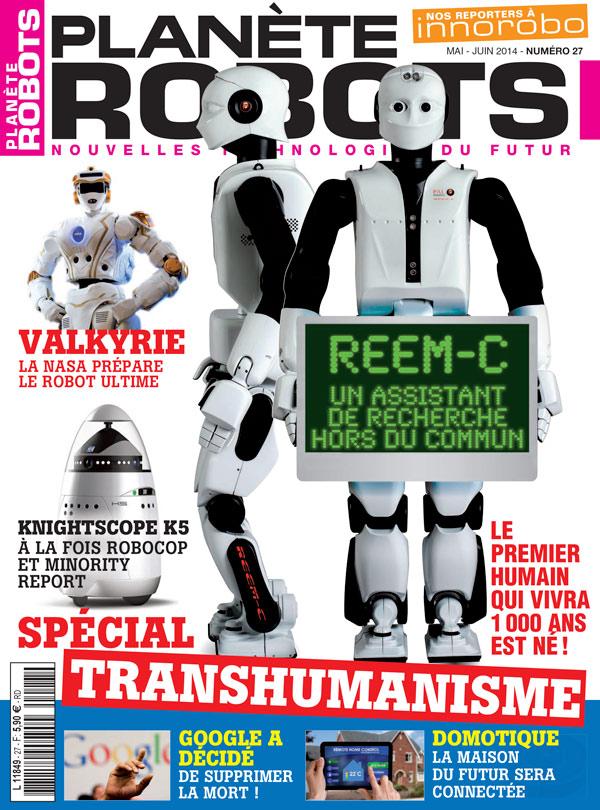 Planète Robots numéro 27