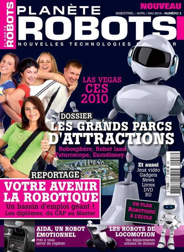 Planète Robots numéro 3