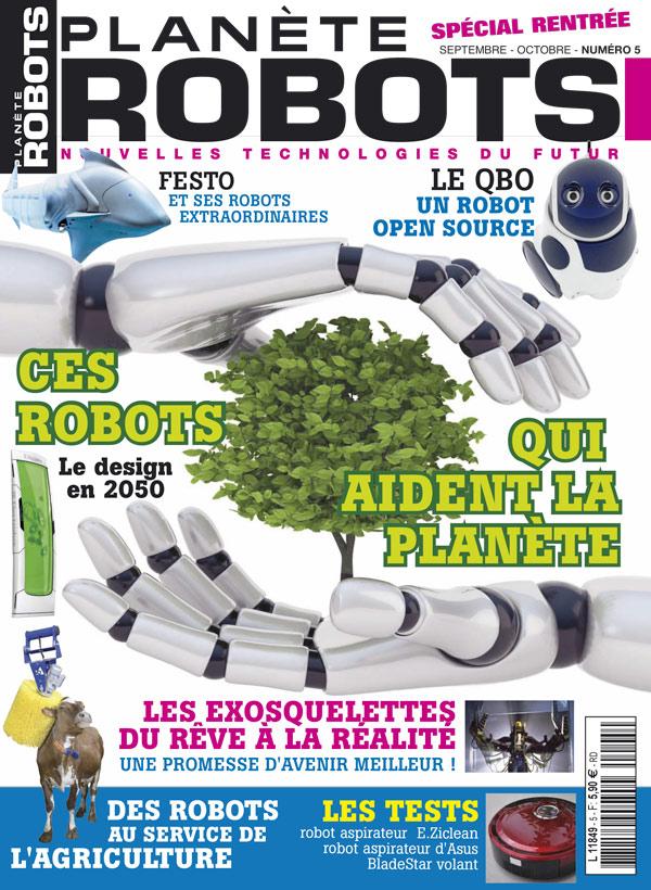 Planète Robots numéro 5