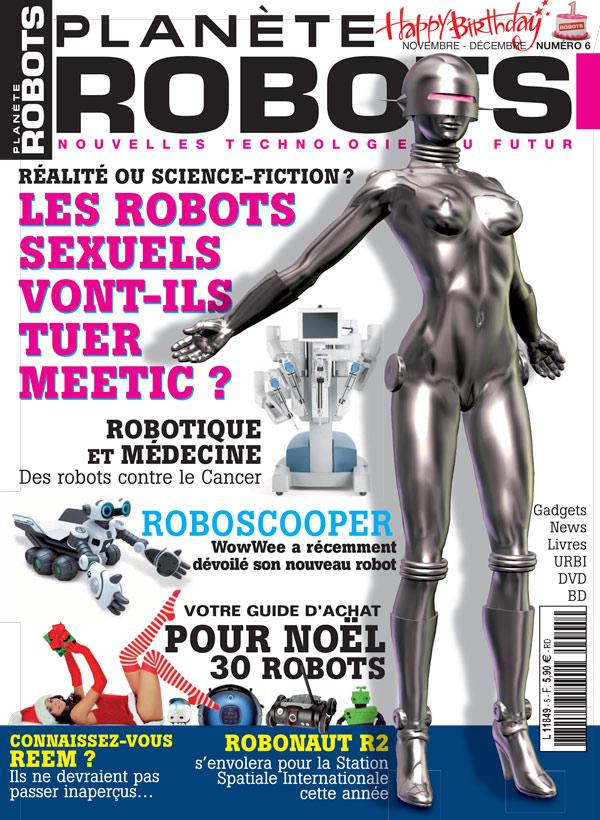 Planète Robots numéro 6