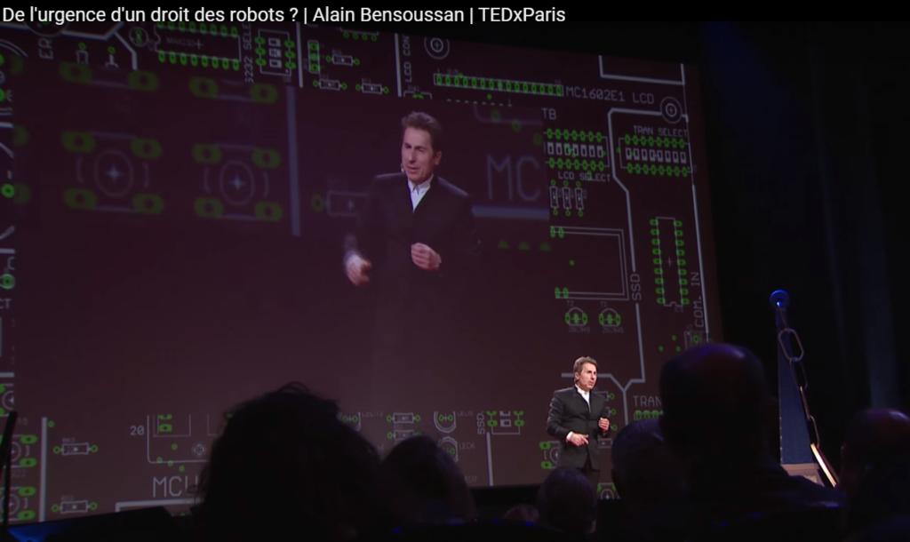 De l'urgence d'un droit des robots ? | Alain Bensoussan | TEDxParis