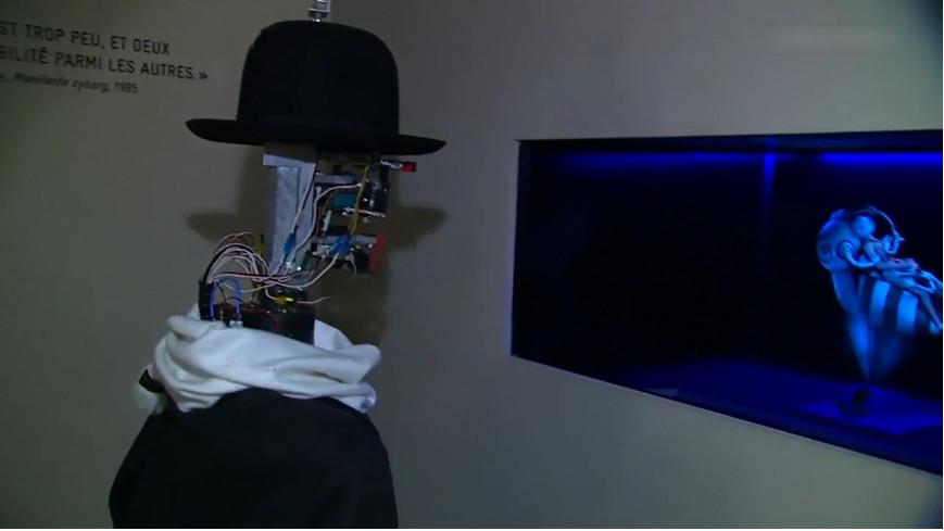 L'émotion du robot Berenson face à une œuvre d'art