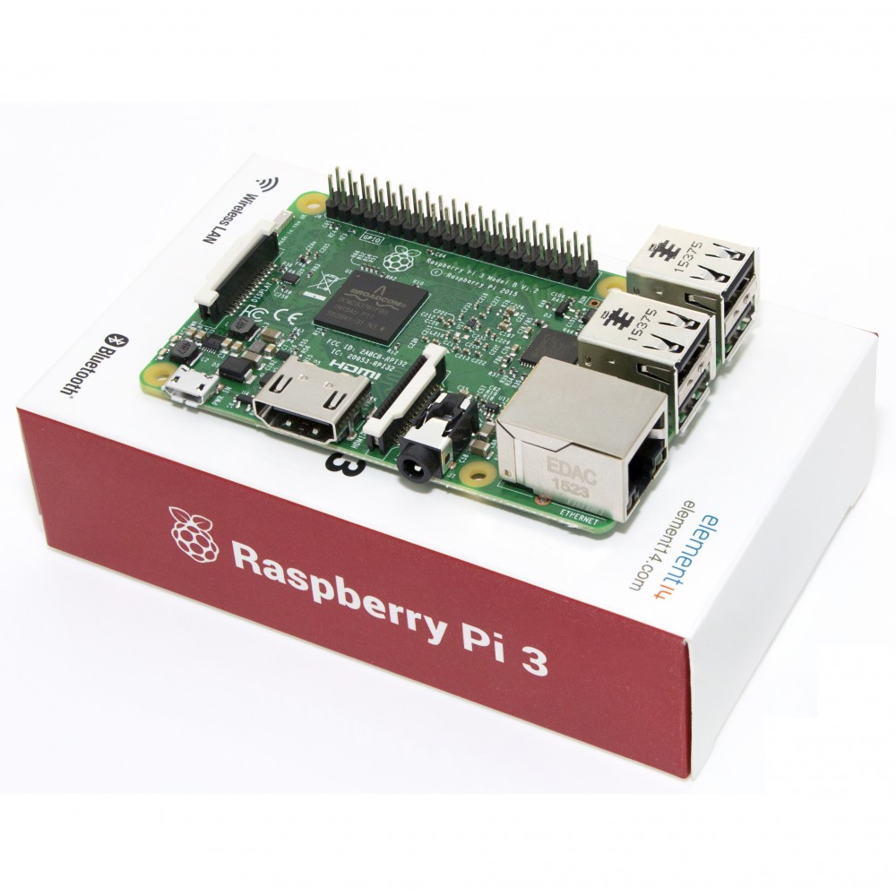 Les robots à venir seront-ils dotés du Raspberry Pi 3 ?