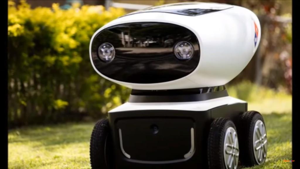 DRU : un robot qui viendra bientôt livrer vos pizzas !?