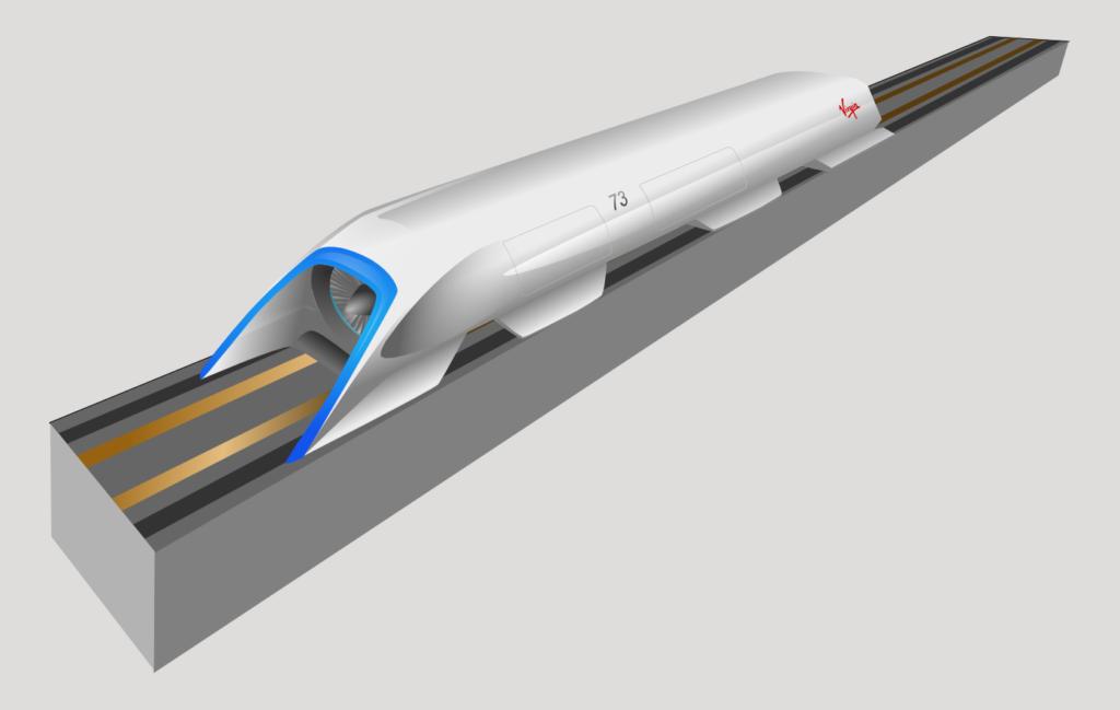 Arrivée en Europe de l'Hyperloop, train à très grande vitesse