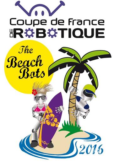 La coupe de France de robotique 2016 du 5 au 7 mai à la Roche-sur-Yon