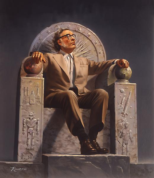 Isaac Asimov, le père des lois de la robotique - Wikimedia Commons