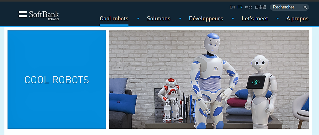 Aldebaran devient SoftBank Robotics