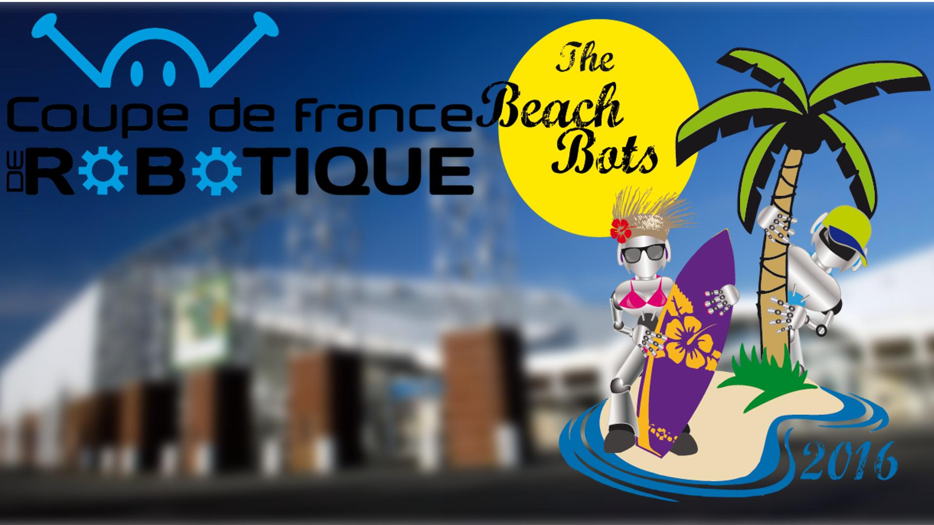 Vidéo de la finale de la Coupe de France de Robotique
