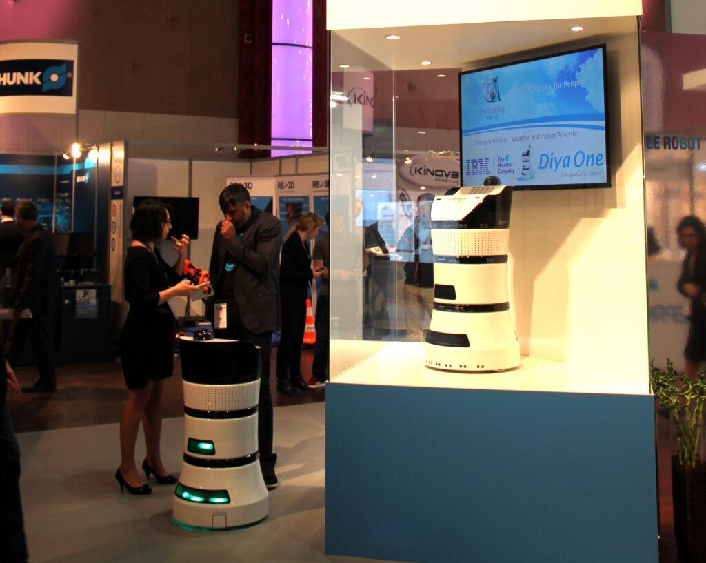 Diya One, un robot au service de la qualité de l'air