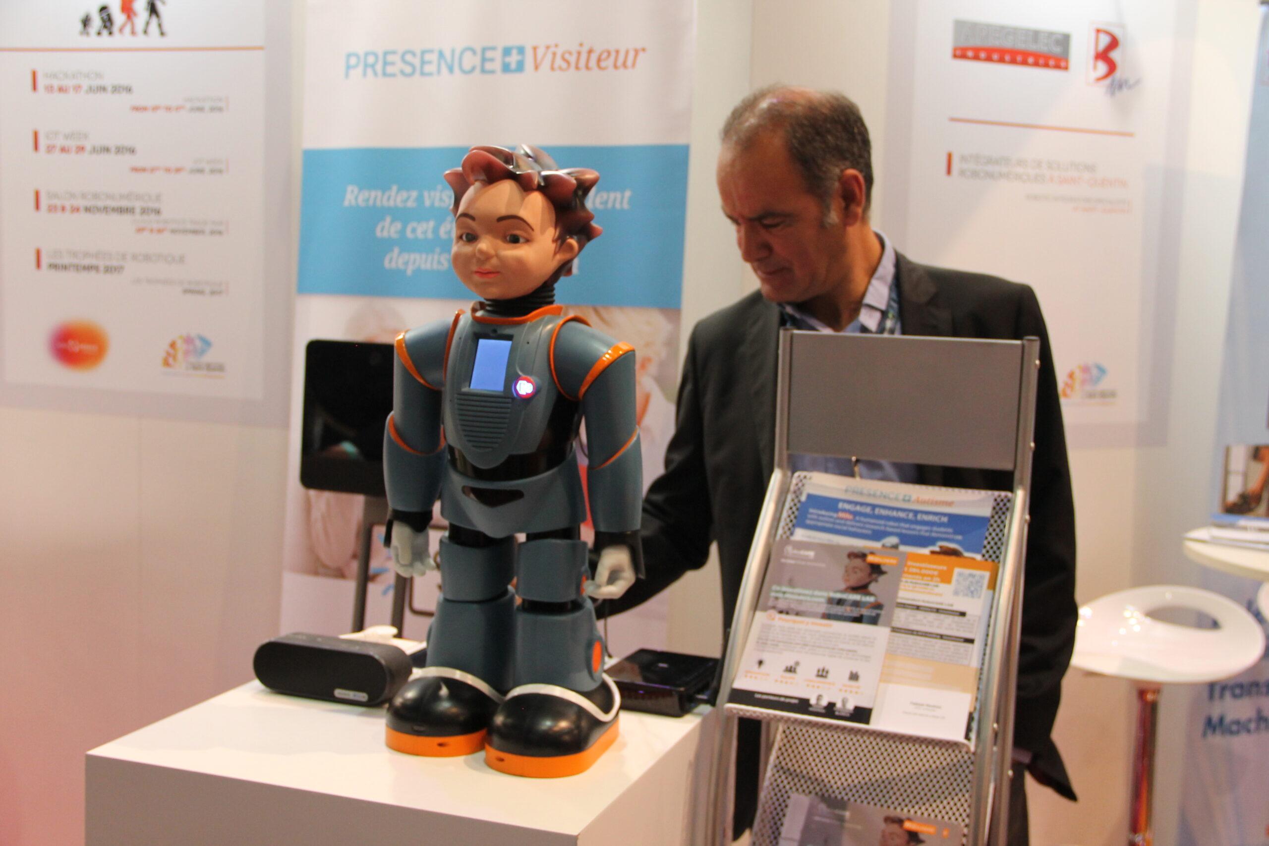 [Innorobo] Milo et Sam, les robots de RoboCare Lab
