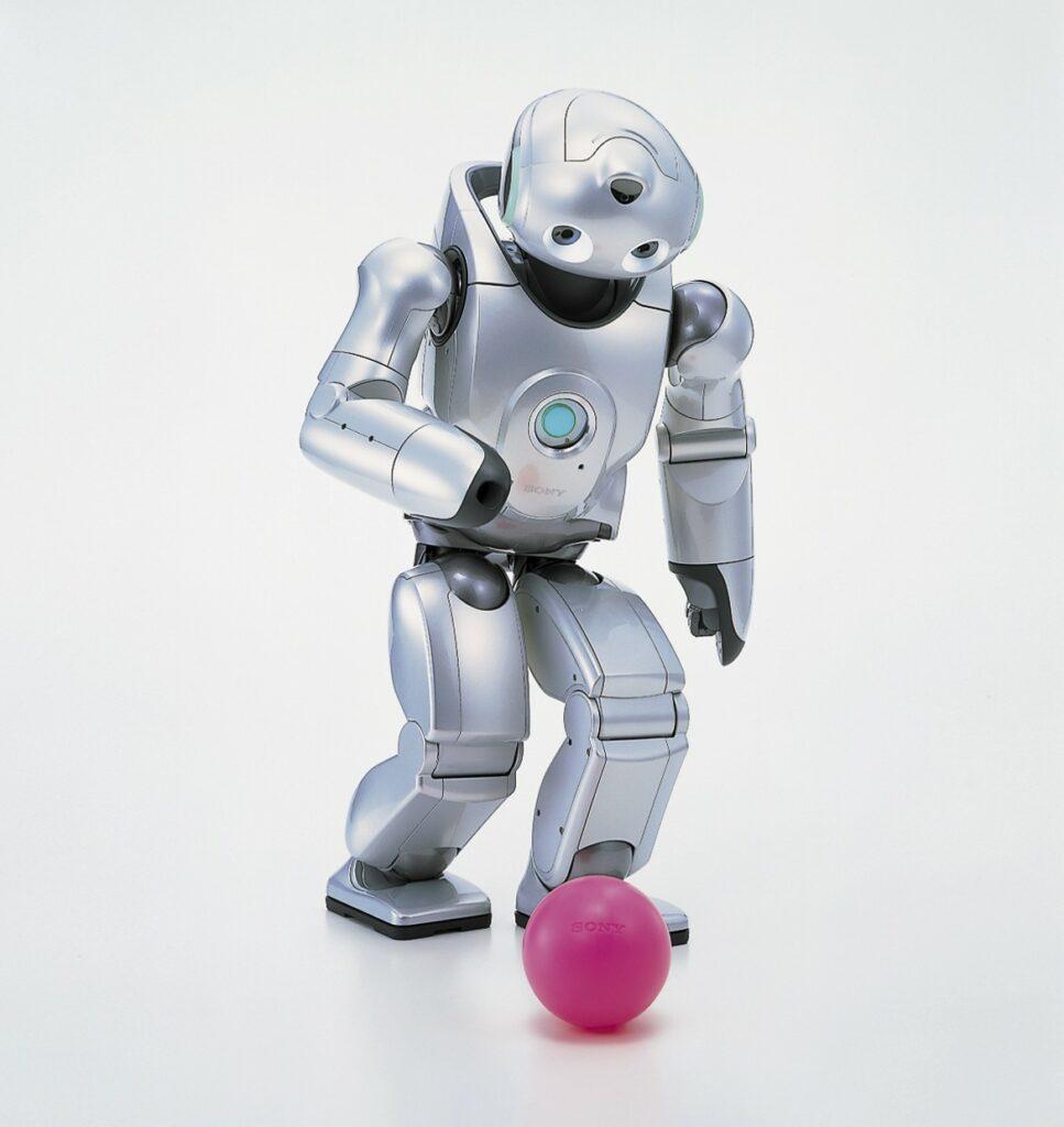 QRio, un petit robot humanoïde qui aurait pus prétendre la place de l'Aibo s'il n'avait pas été si cher...