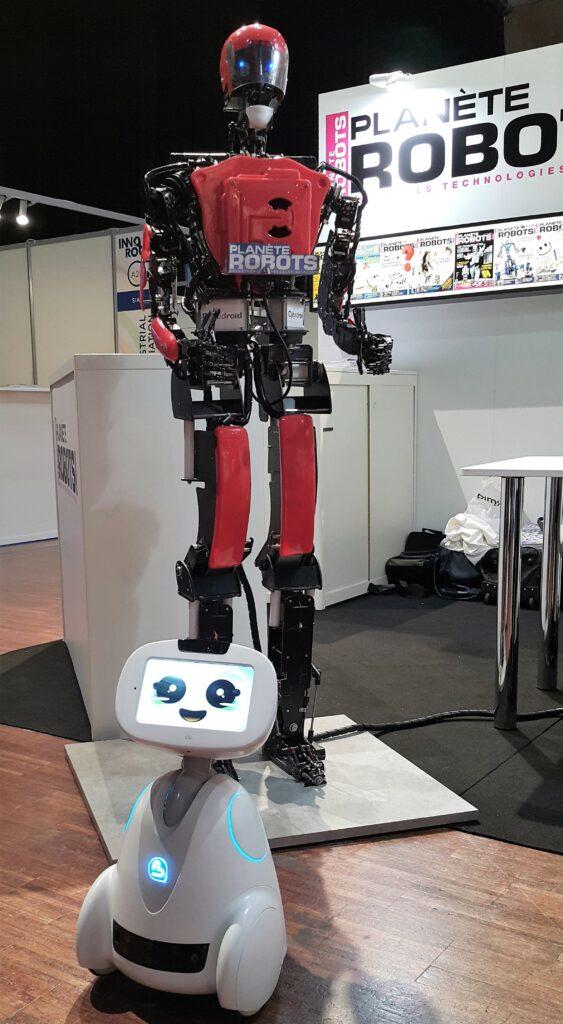 Planète Robots Aria et Buddy