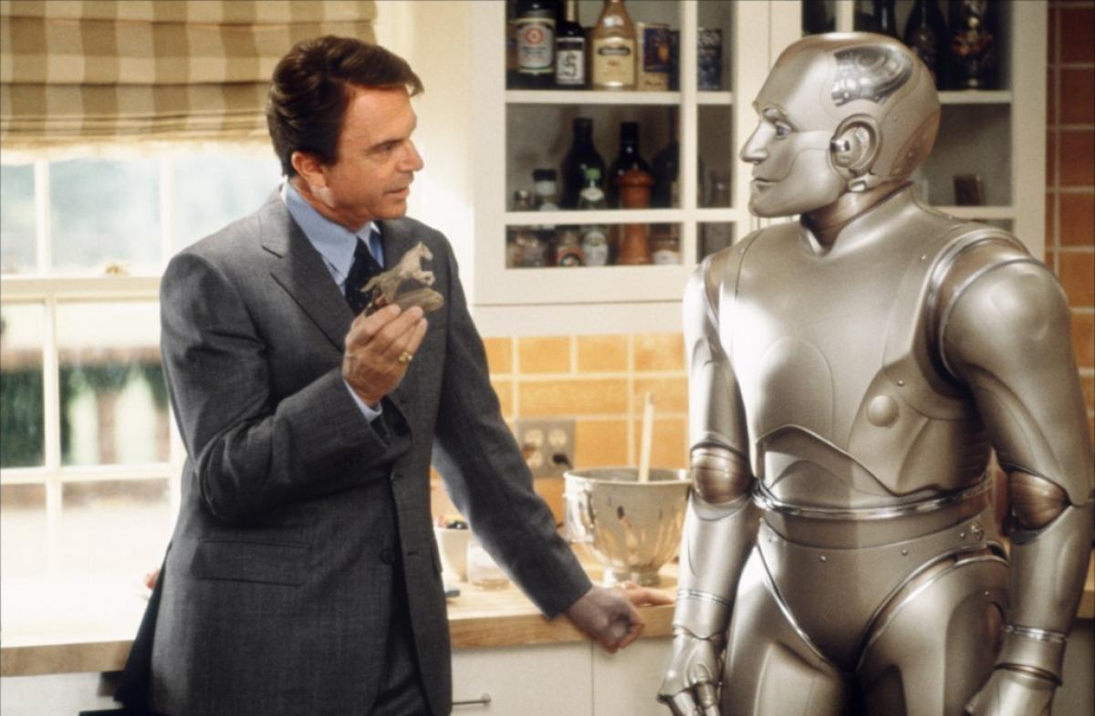 homme bicentenaire - robot vie