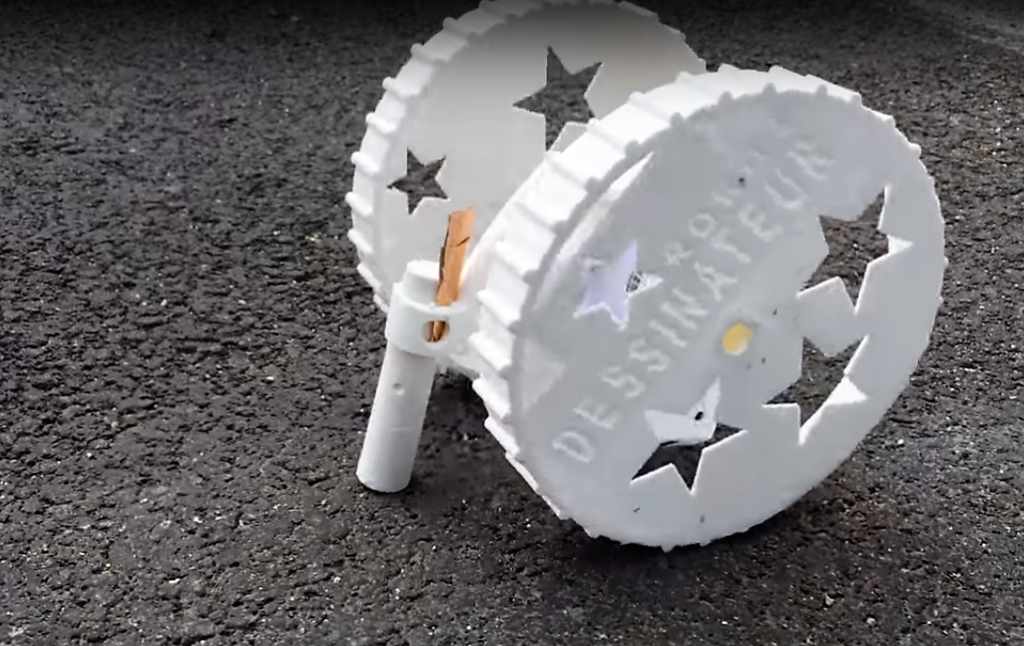Des robots pour rendre Paris plus joyeuse, c'est l'idée d'Eva, 10 ans !