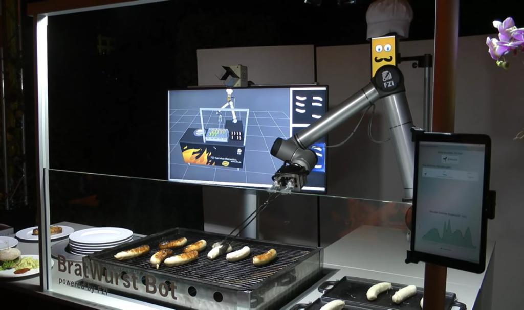 BratWurst Bot, un robot pour s'occuper du barbecue