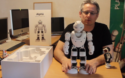 Alpha 1S UBTECH- Planete Robots