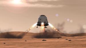 Capsule Red Dragon de SpaceX