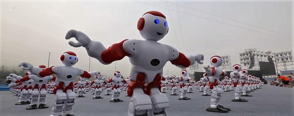 Un nouveau record du monde pour des robots danseurs