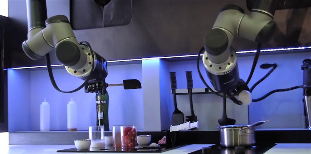 Un robot cuisinier bientôt dans nos maisons ?