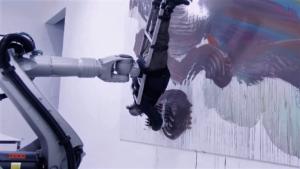 robot peintre - Planete Robots