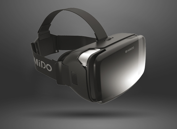 Homido v2, nouvelle version du casque virtuel français