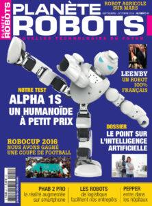 Couverture Planete Robots 41
