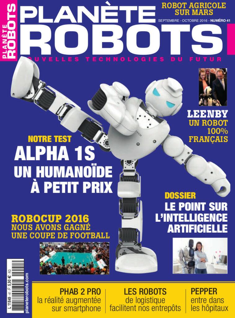 Planète Robots n°41 est en kiosque !