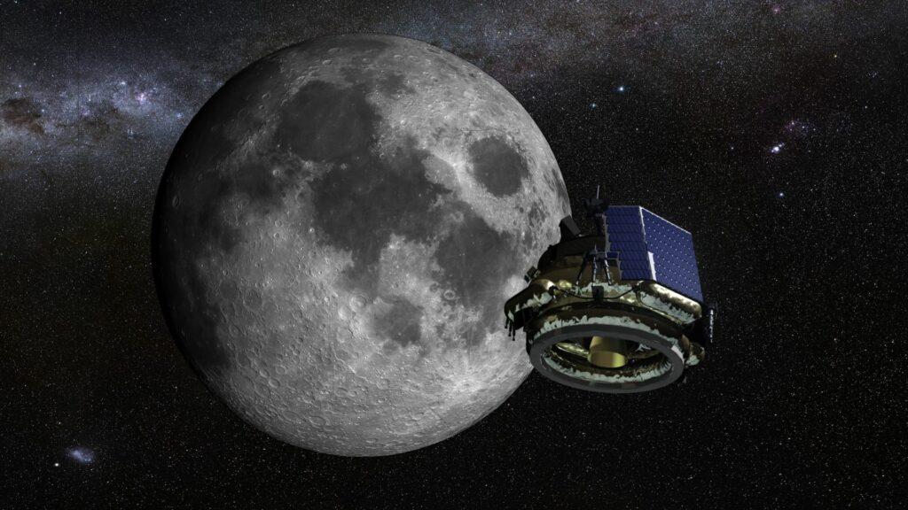 Moon Express en orbite lunaire