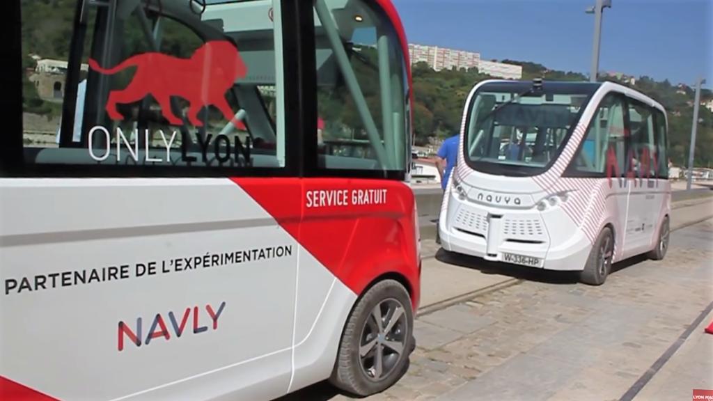 Navly, un bus autonome à Lyon