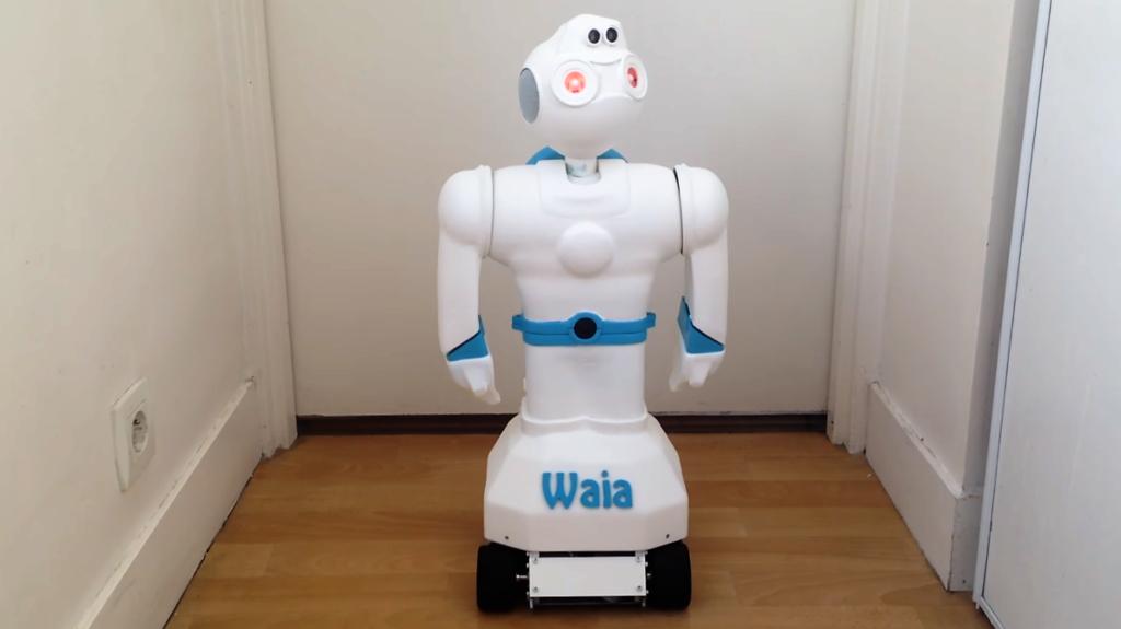 Waia, un nouveau robot 100% français