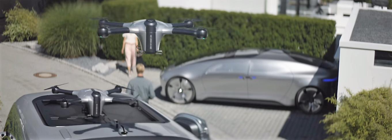 Des drones sur un camion pour accélérer les livraisons