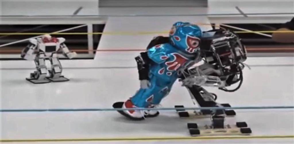 [Vidéo] Combat de catch entre robots